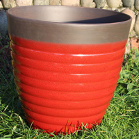 Florence Planter, Post Box Red 40 cm-Lättviktskruka Florence Planter Post Box Red 40 cm