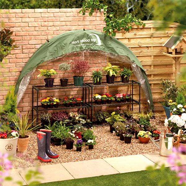 Växthus för terrass och balkong