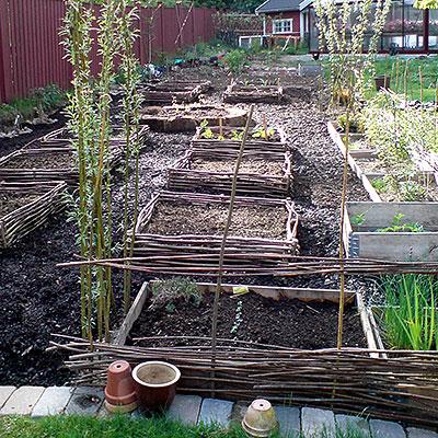 Drivhus, växtstöd, fiberduk för växtodling