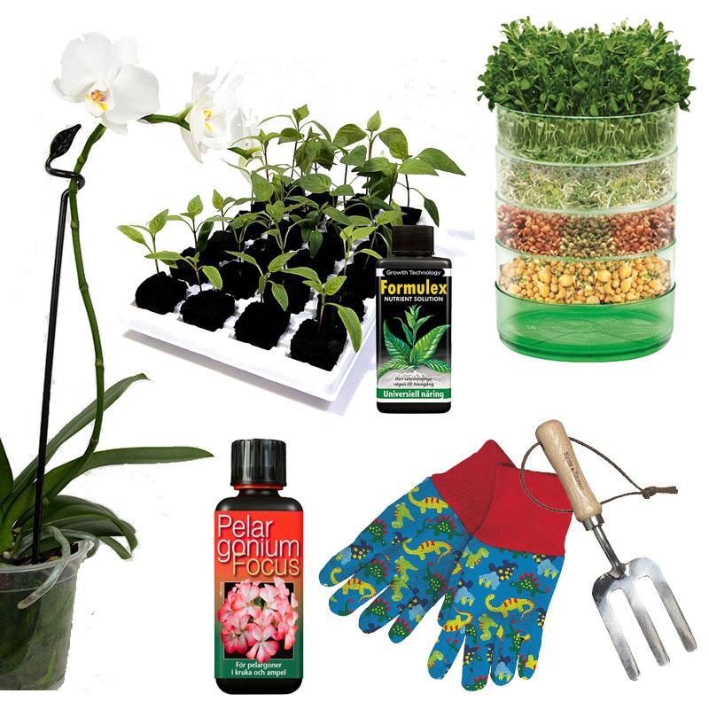 Specialprodukter för olika typer av odling