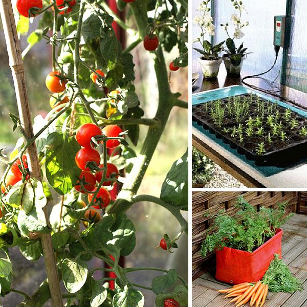Tillbehör till växthus