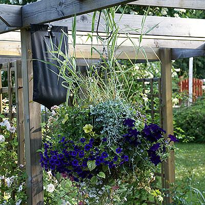 Droppbevattning för växter i kruka och på friland